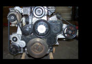 6.0 powersteering relocation and alternator bracket using dodge ac - superduty application